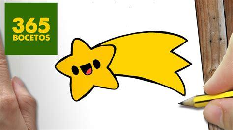 imagenes de estrellas kawaii como dibujar un estrella para navidad paso a paso dibujos