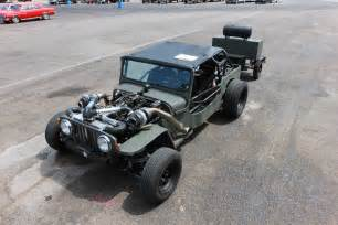 Jeep Turbo Turbo Jeep Rat Rod Deathtrap At Drag Weekend West