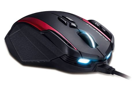 Mouse Gaming Genius Gila genius gila gaming mouse boasts buttons galore and adjustable heft slashgear