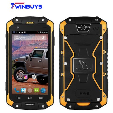 rugged smart phone aliexpress buy waterproof forest panthers no1 rugged smartphone 4 5 quot ips android 4 4