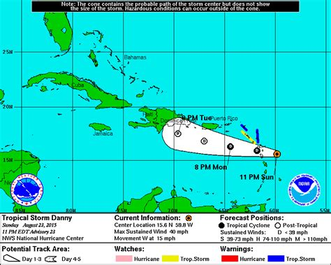 2015 projected path hurricane danny brevard times tropical storm danny s projected path changes