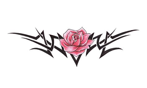 tribal black rose tattoo tattoos page 85