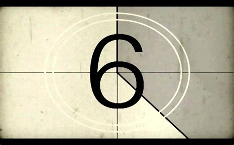 test pattern countdown free old film countdown hd with download link youtube