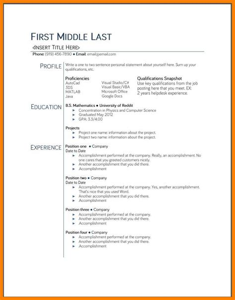 docs template resume 9 docs resume template free applicationleter