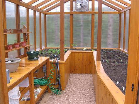 cedar greenhouse  potting bench  jhtuckwell