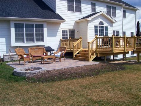 decks and patios best 25 wood deck designs ideas on