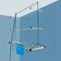 cool idea indoor clothes line works on a pulley system