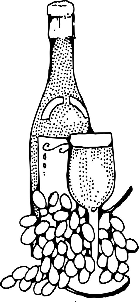 Pin about Wine bottle images, Art and Free vector clipart