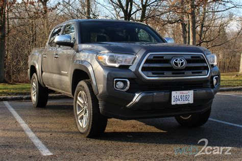 Toyota Limited 2016 Toyota Tacoma Limited 4x4 Review Web2carz