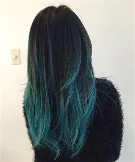 Blue New Hairstyle by 20 Teal Blue Hair Color Ideas For Black Bown Hair