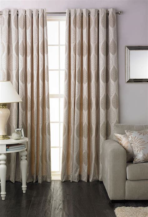 natural drapes dalby eyelet curtains in natural free uk delivery