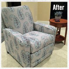 how to reupholster a reclining sofa reupholstered recliner from the curb total cost for