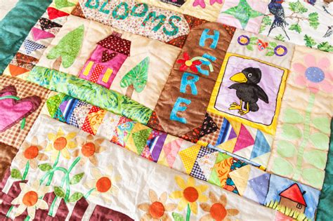 Patchwork Puzzle - patchwork quilt jigsaw puzzle in handmade puzzles on