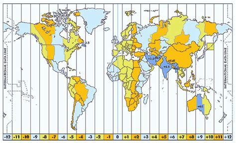 horario para revalidar placas en cd obregon los husos horarios escuelapedia recursos educativos