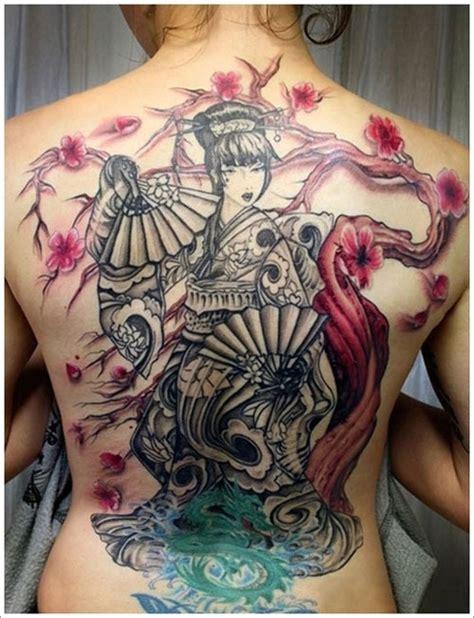 tattoo geisha nhat ban h 236 nh xăm geisha