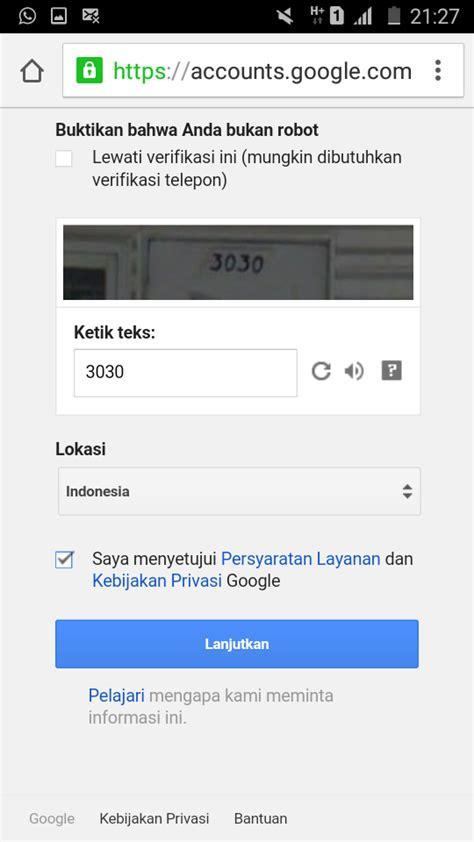 cara membuat account gmail lewat hp cara membuat email gmail lewat hp android mari berbagi