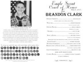 eagle scout court of honor program template eagle court of honor the program the balloon