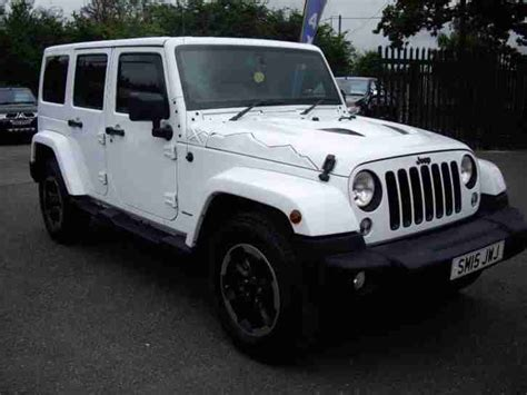 jeep wrangler crd x unlimited diesel automatic 2015 15
