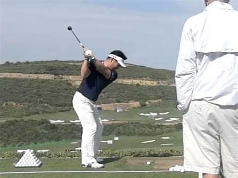 jack nicklaus golf swing slow motion y e yang golf swing with hybrid slow motion down the