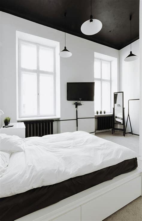 schwarze besser im bett schlafzimmer schwarz wei 223 44 einrichtungsideen mit