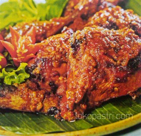 resep membuat nasi merah bakar resep cara membuat ayam panggang merah tokopastri