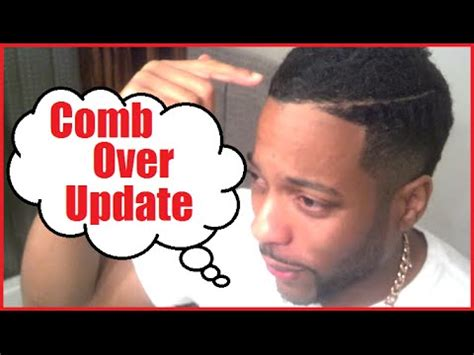 black men hairstyle comb over products and combover haircut update youtube
