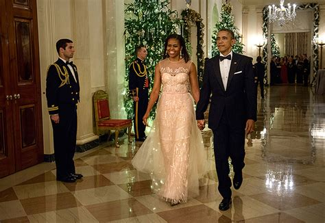 7 Beautiful Home Fashions by Look Obama Graces White House Gala In