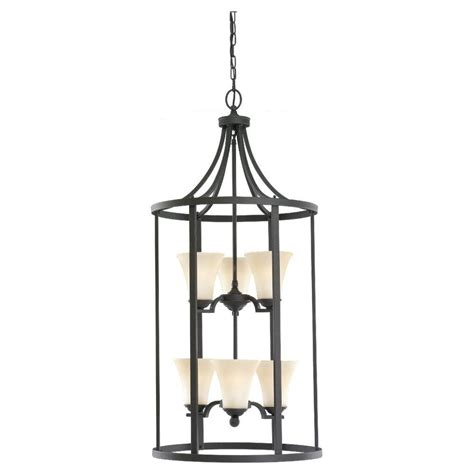 sea gull lighting somerton 6 light blacksmith foyer