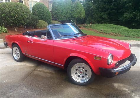 fiat spider 1978 1978 fiat 124 spider for sale 1954282 hemmings motor news
