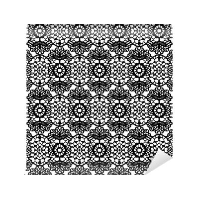 lace pattern vector png lace black seamless mesh pattern vector illustration