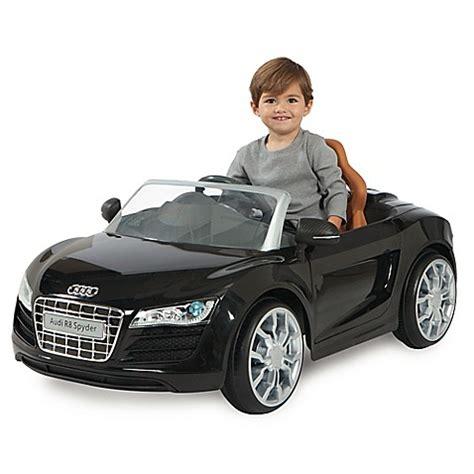 Audi R8 Spielzeugauto by Audi R8 Spyder 6v Battery Ride On Convertible Sports Car