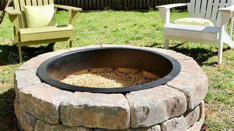 how to build a diy pit in your backyard thrift
