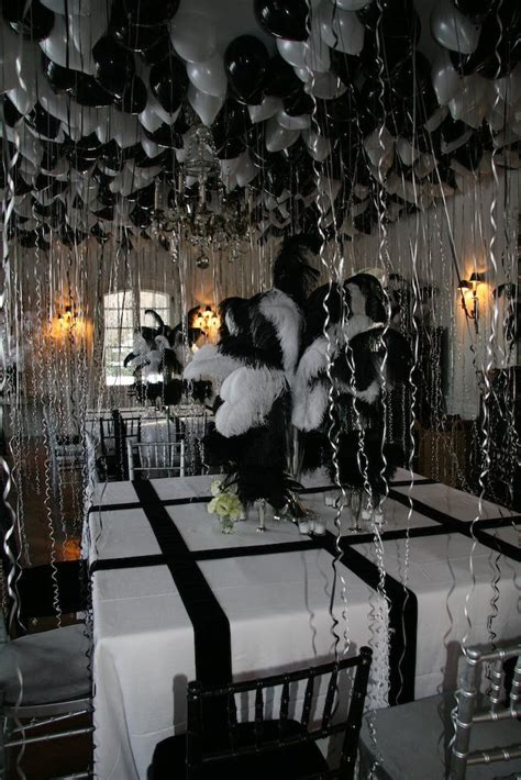 black and white themed decorations ober onet associates truman capote black and white
