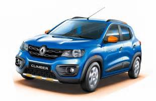 Renault Kwid Pics Launched Kwid Climber Price Pics Features Changes
