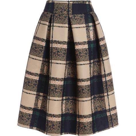 Tartan Midi Flare Skirt 1000 ideas about tartan skirts on tartan