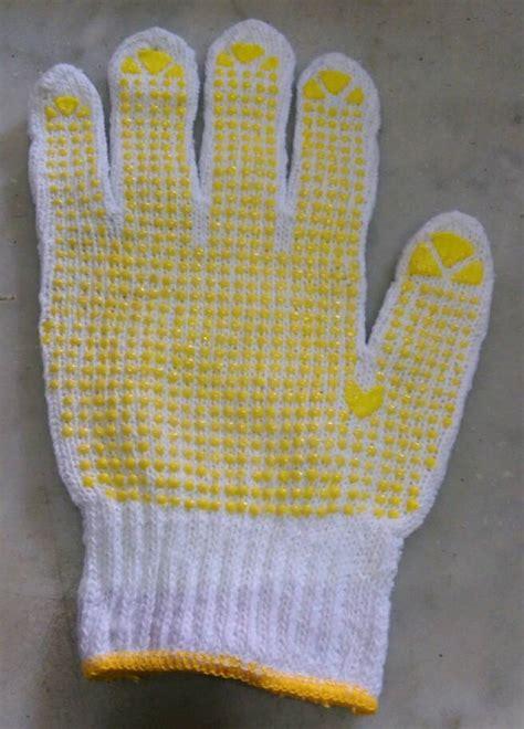 Sarung Tangan Tukang Bangunan jual sarung tangan kain benang bintik serbaguna tukang
