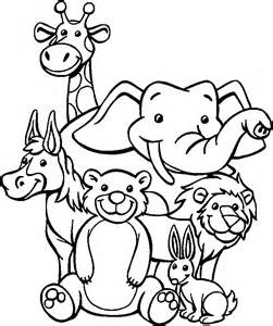 zoo animal coloring pages zoo coloring www mindsandvines