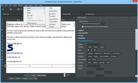 kompozer templates kompozer templates free linux and unix html