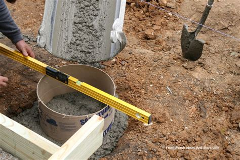 how to build a basement foundation porch foundations porch repairs porch footing