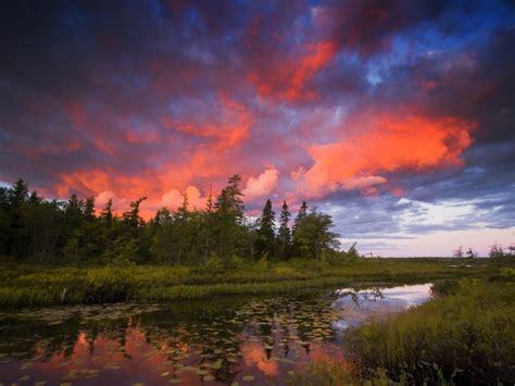 rocky lake nova scotia sunset wallpapers rocky lake nova