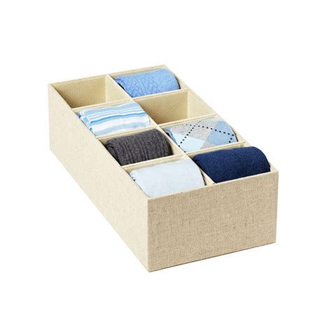 8 Drawer Organizer by Linen Drawer Organizers The Container Store