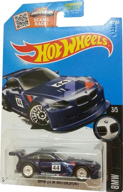 Hotwheels Bmw Series Z4 bmw z4 m motorsport wheels 2016 treasure hunt