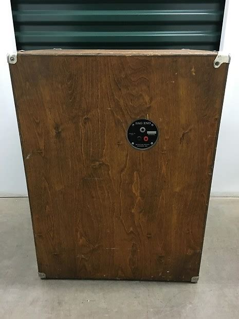 bag end bass cabinet bag end 2x12 bass cabinet antique reverb