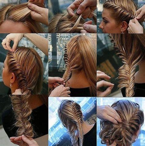 tutorial kepang rambut fishtail fashion remaja cara menata rambut dengan kepang modern