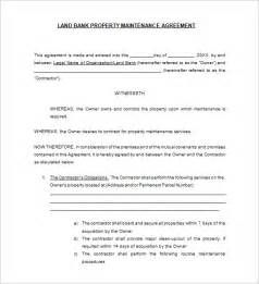 contract service agreement template 12 maintenance contract templates free word pdf