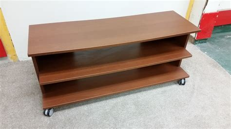 tv tables for sale tv table unit mdf with wheels 118x44x50 used furniture