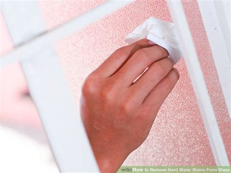 how to remove water stains from glass expert advice on how to remove water stains from glass