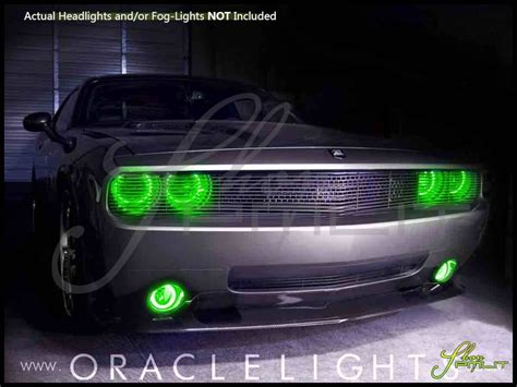 oracle 08 14 dodge challenger w pro ccfl halo rings