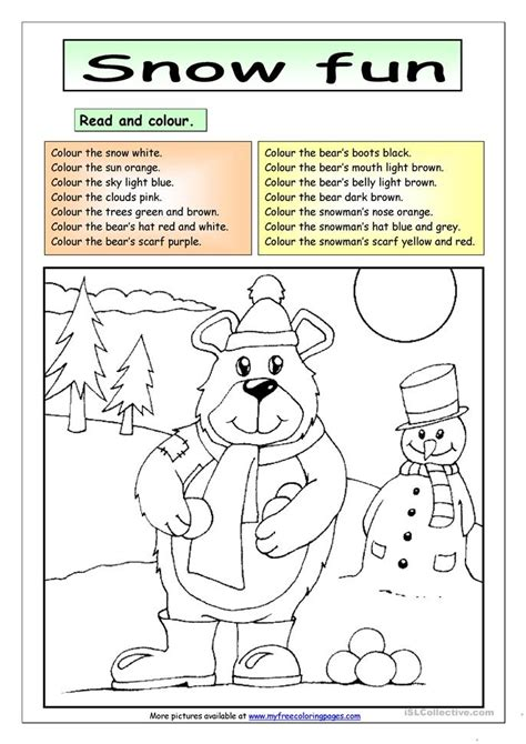 read colored worksheets read and color worksheets opossumsoft