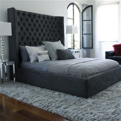 High Headboard Bed Furniture Corner High Back Beds New Designs